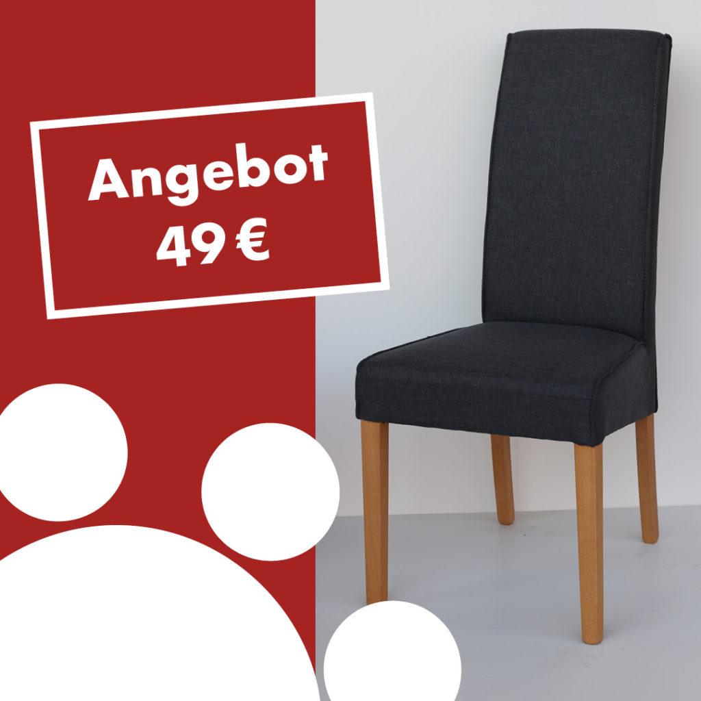 Polsterstuhl AGATHA