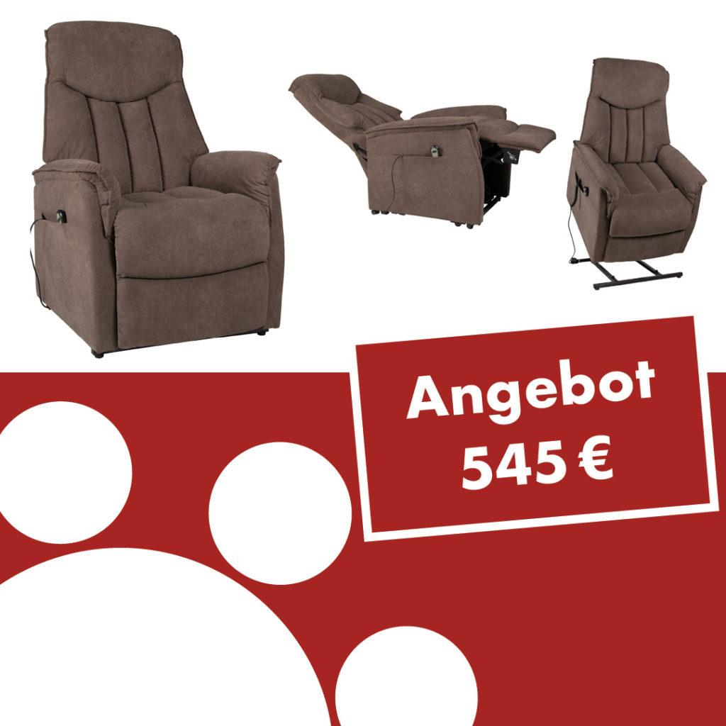 TV-Sessel Aurora XXL mit Motor und Aufstehhilfe