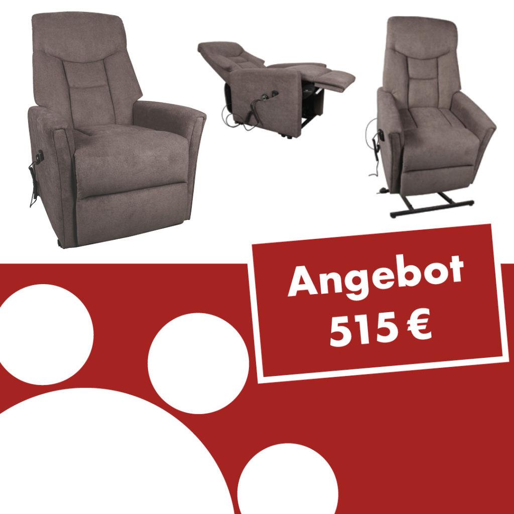 TV-Sessel Cadillac mit Motor, Massage und Aufstehhilfe