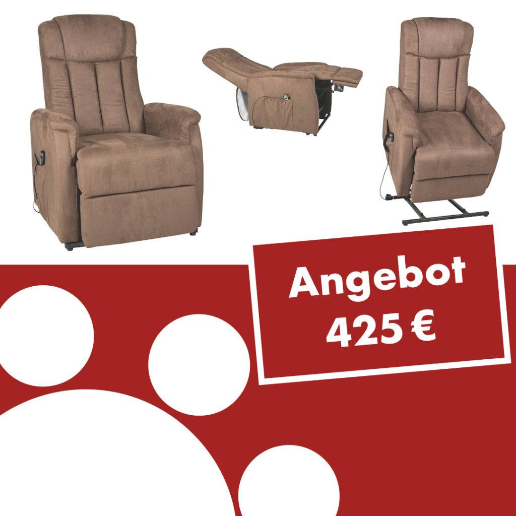 TV-Sessel Delphi mit Motor und Aufstehhilfe